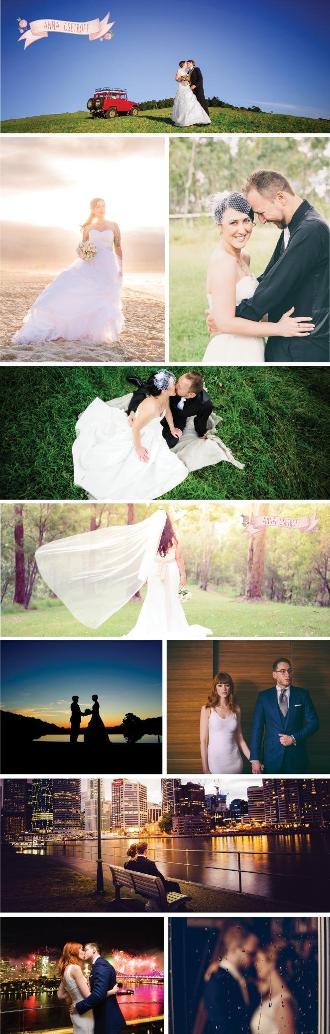 Anna Osetroff Brisbane Wedding Photographer Photo layout Homepage